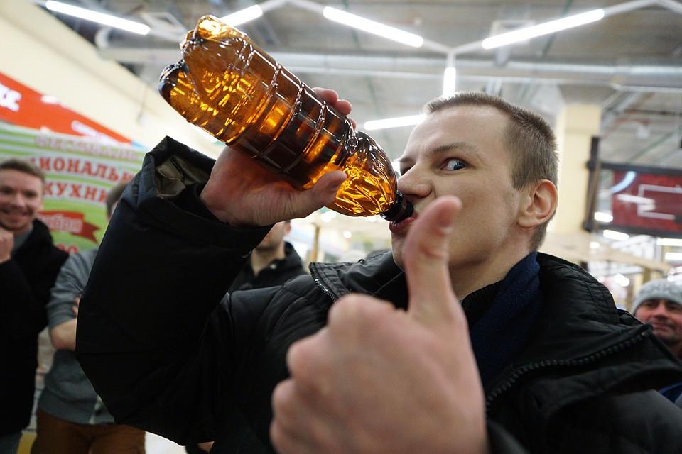 Пиво в пластиковой таре сейчас составляет 40% российского рынка