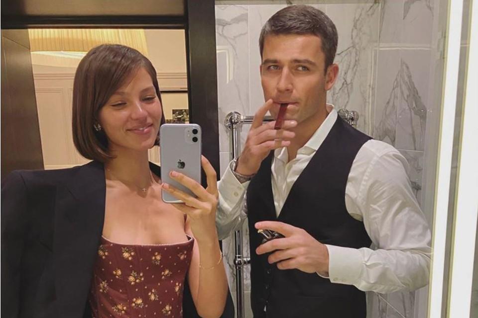 Алеся Кафельникова и ее бойфренд Георгий Петришин. Фото: Инстаграм.