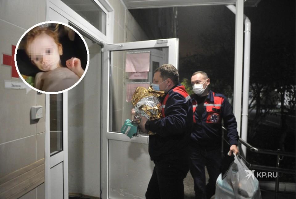 Малышка всю дорогу от Краснотурьинска до Екатеринбурга спала. Сейчас девочку обследуют врачи-реаниматологи.