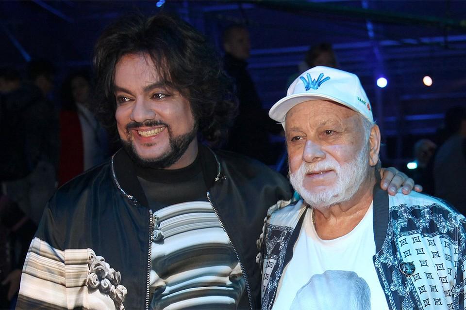 Бедрос Киркоров с сыном Филиппом.