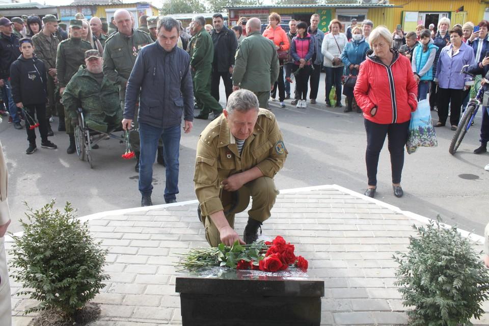 В Донецке почтили память погибших защитников
