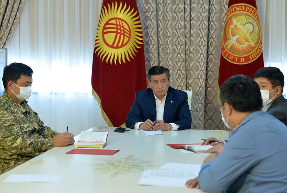 Президент посовещался с силовиками.