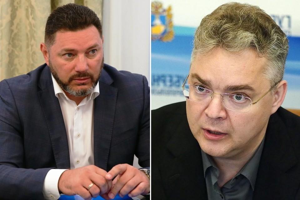 Александр Курбатов прокомментировал инцидент на планерке с губернатором. Фото: Википедия / пресс-служба губернатора Ставропольского края