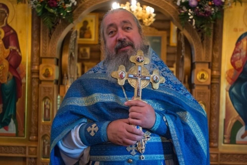 Скончался протоиерей Димитрий Арзуманов. Фото: Храм Святого праведного Иоанна Кронштадтского