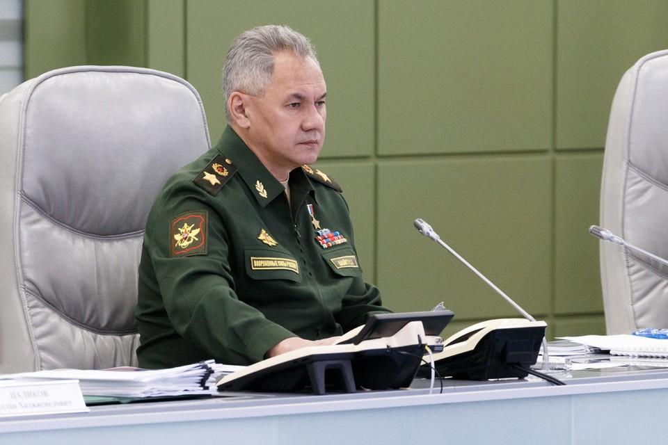 Шойгу заявил турецкому министру обороны, что встревожен сообщениями о переброске в Карабах боевиков с Ближнего Востока