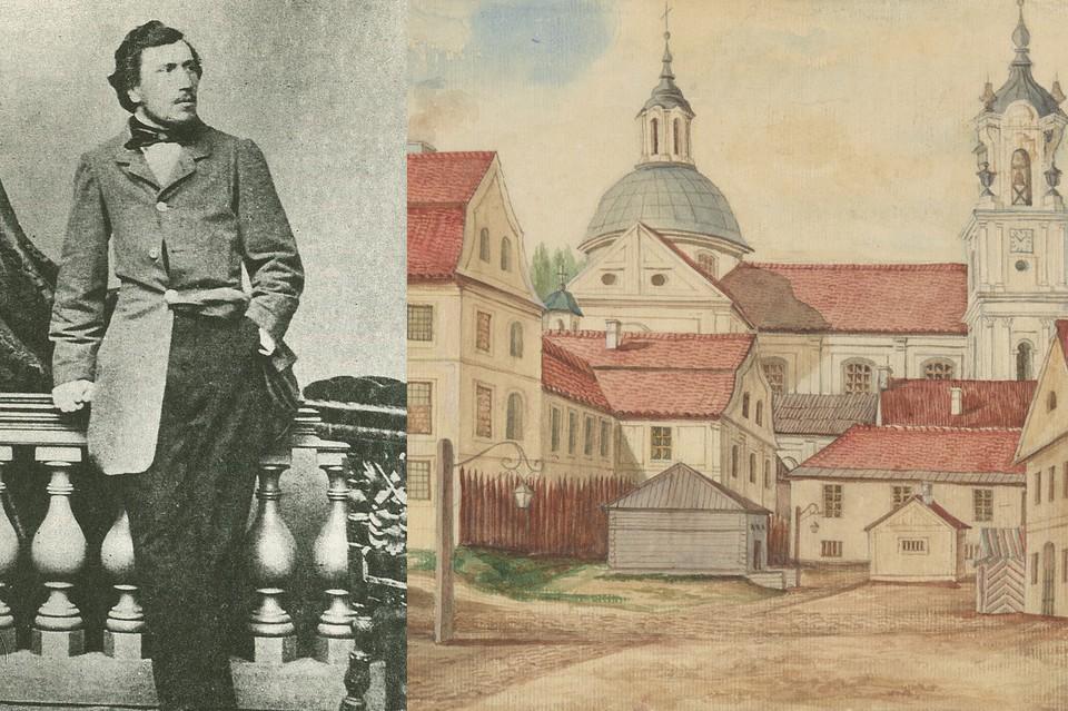 В 1862-м будущий автор «Левши» и «Леди Макбет Мценского уезда» Николай Лесков оставил свои воспоминания о Гродно.