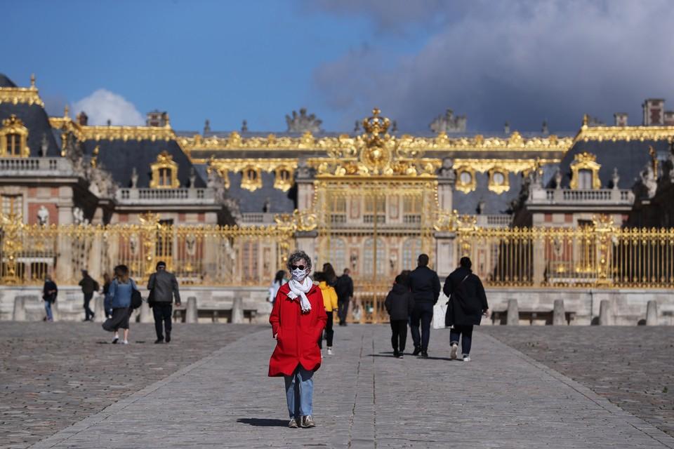 В Версаль перестали пускать туристов в самый пик коронавирусной пандемии.