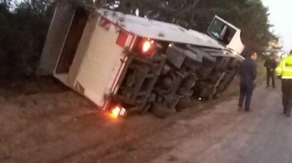 К счастью, водитель не пострадал (Фото: полиция).