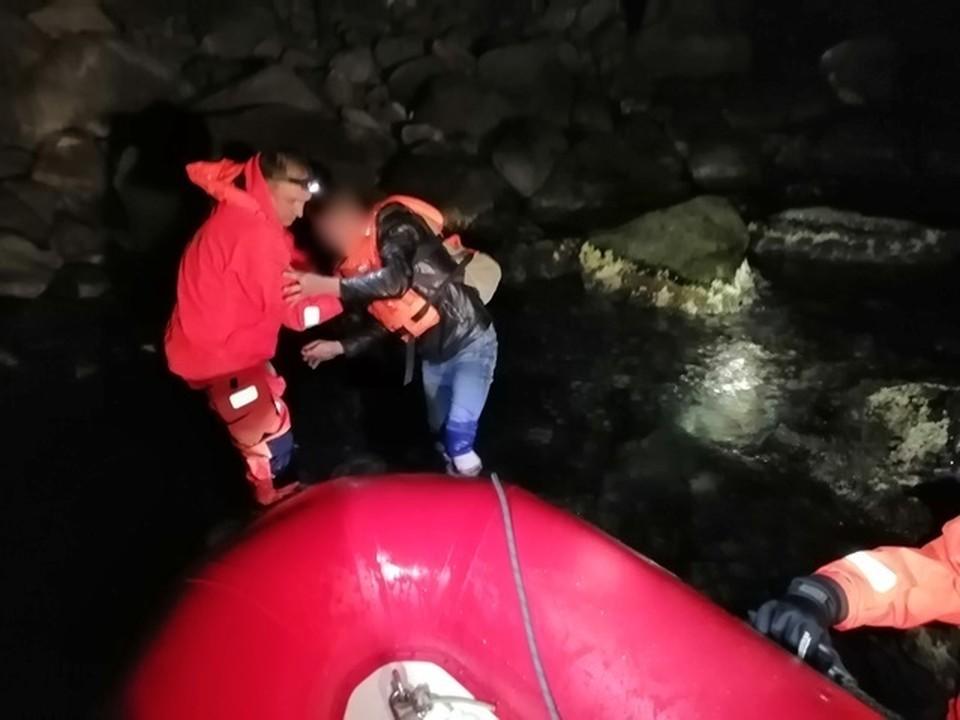 На горе Аю-Даг заблудились два туриста из Брянска. Фото: официальный сайт МЧС по Крыму.