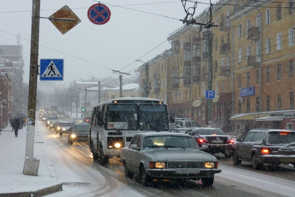 Уже воскресным вечером кировчан ожидает первый снег.