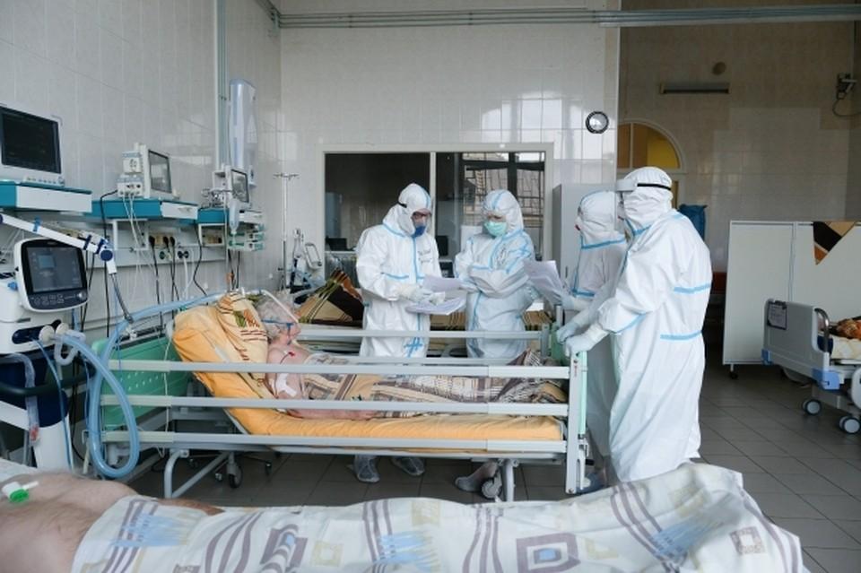 Новокузнецк вновь лидирует по числу заболевших коронавирусом