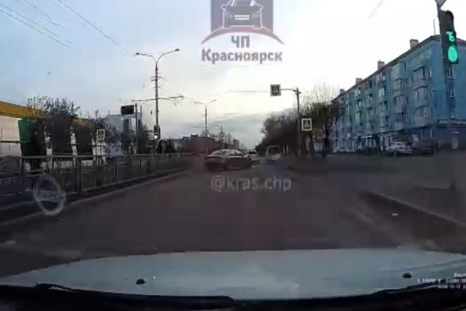 Водитель пытался скрыться Фото: ЧП-Красноярск