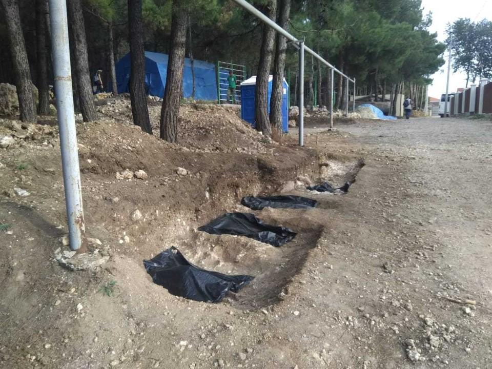 Все могилы будут законсервированы до нового этапа раскопок