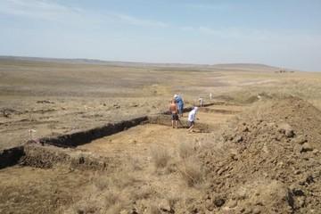 В Крыму при строительстве водовода нашли древнее золотоордынское поселение