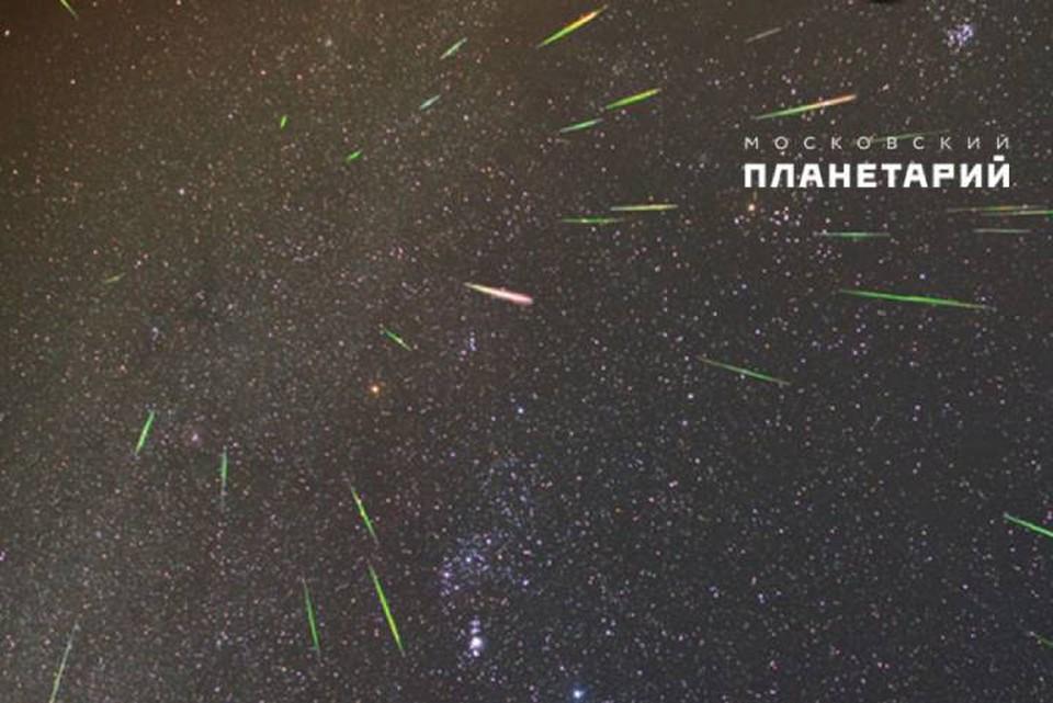 Метеоры потока Ориониды одни из самых ярких.