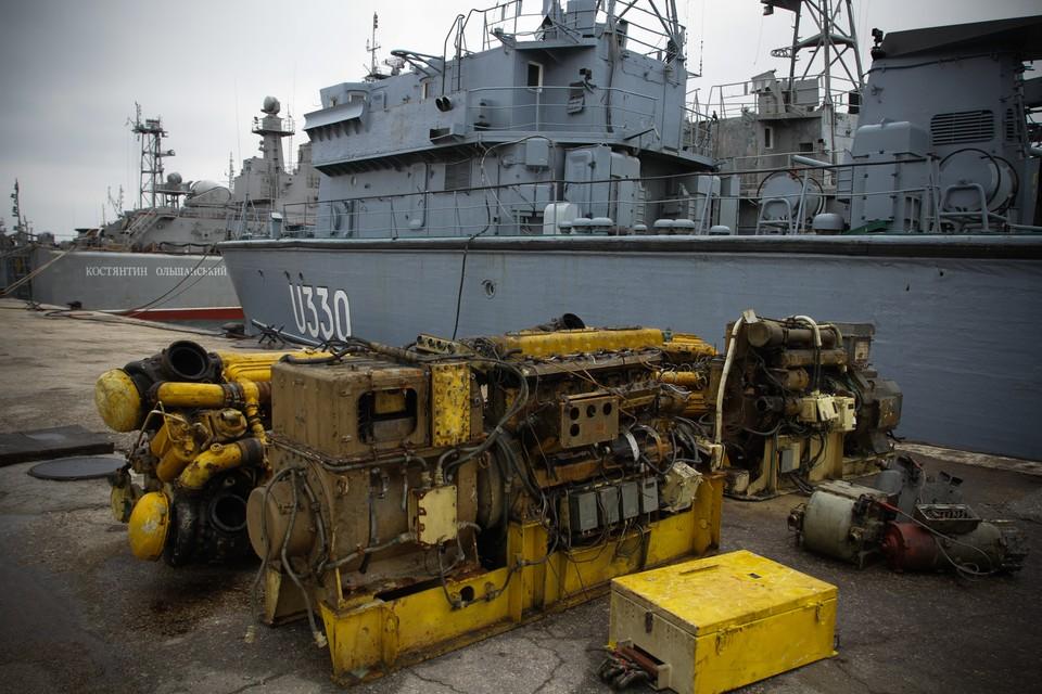 В Кремле оценили строительство Украиной военно-морских баз на Черном море