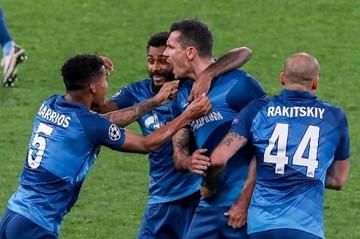 «Зенит» сенсационно проиграл «Брюгге» в первом матче Лиги чемпионов