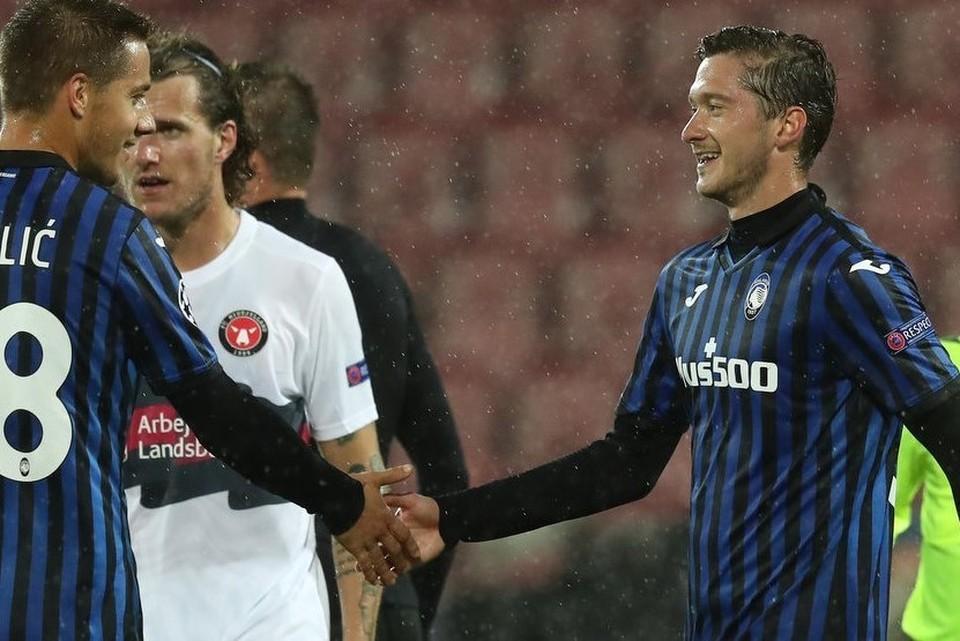 Алексей Миранчук забил гол в первом же матче за Аталанту Фото: atalanta.it
