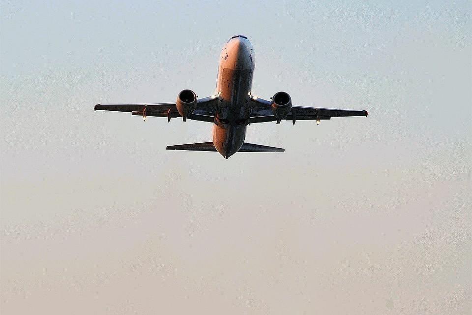Датчик неисправности шасси сработал в самолёте, летящим из Воронежа в Москву