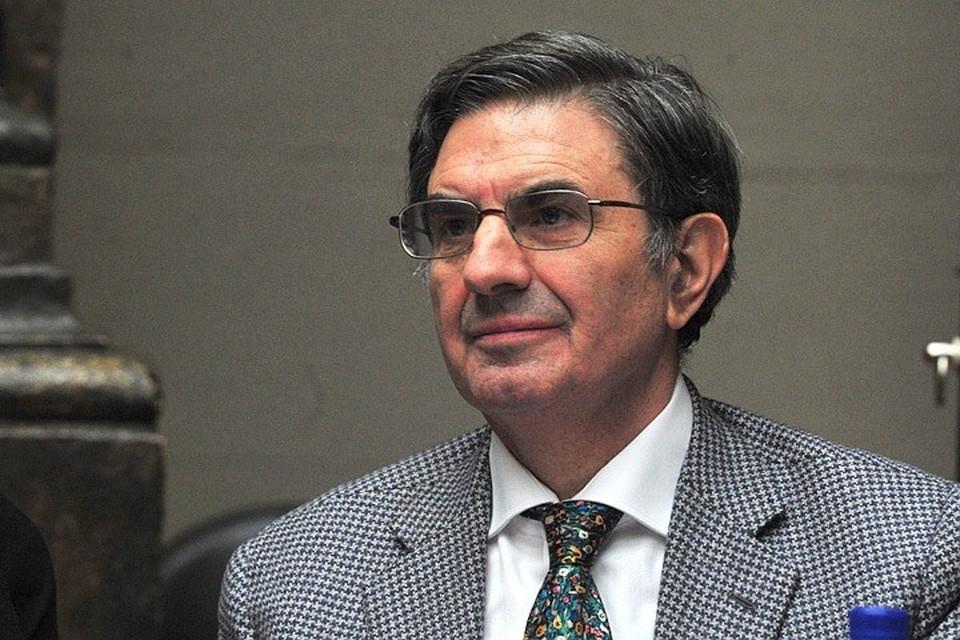 Председатель совета директоров итальянского банка «Интеза» и президент Ассоциации «Познаем Евразию» Антонио Фаллико