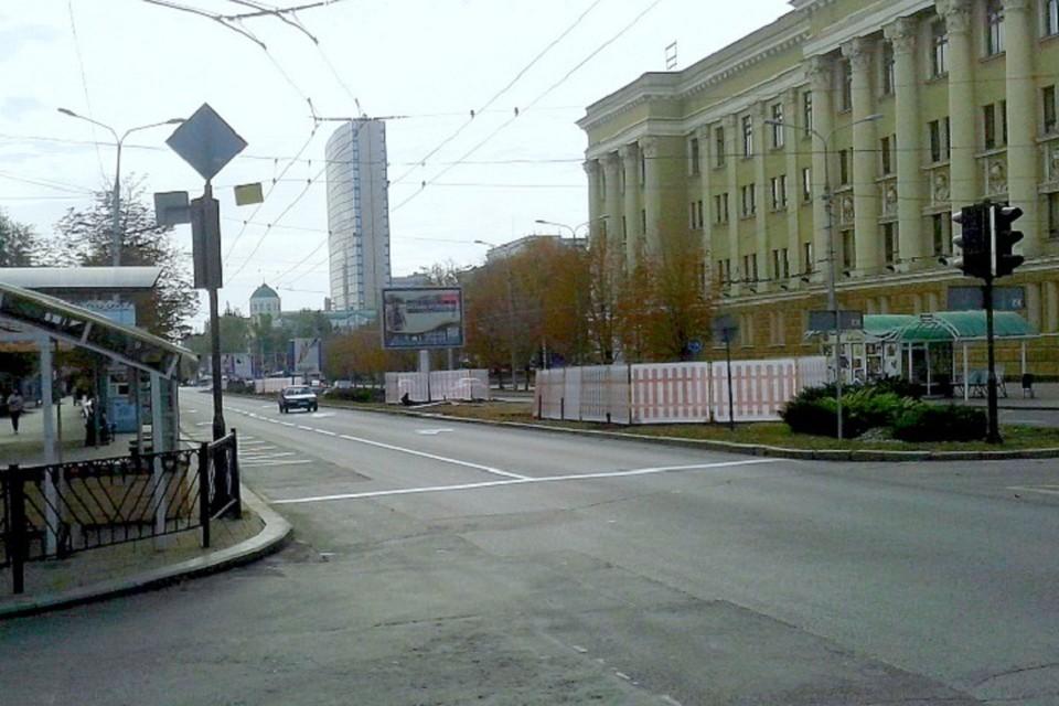 В центре Донецка реконструируют полукилометровый участок водовода. Фото: Пресс-служба министерства транспорта ДНР