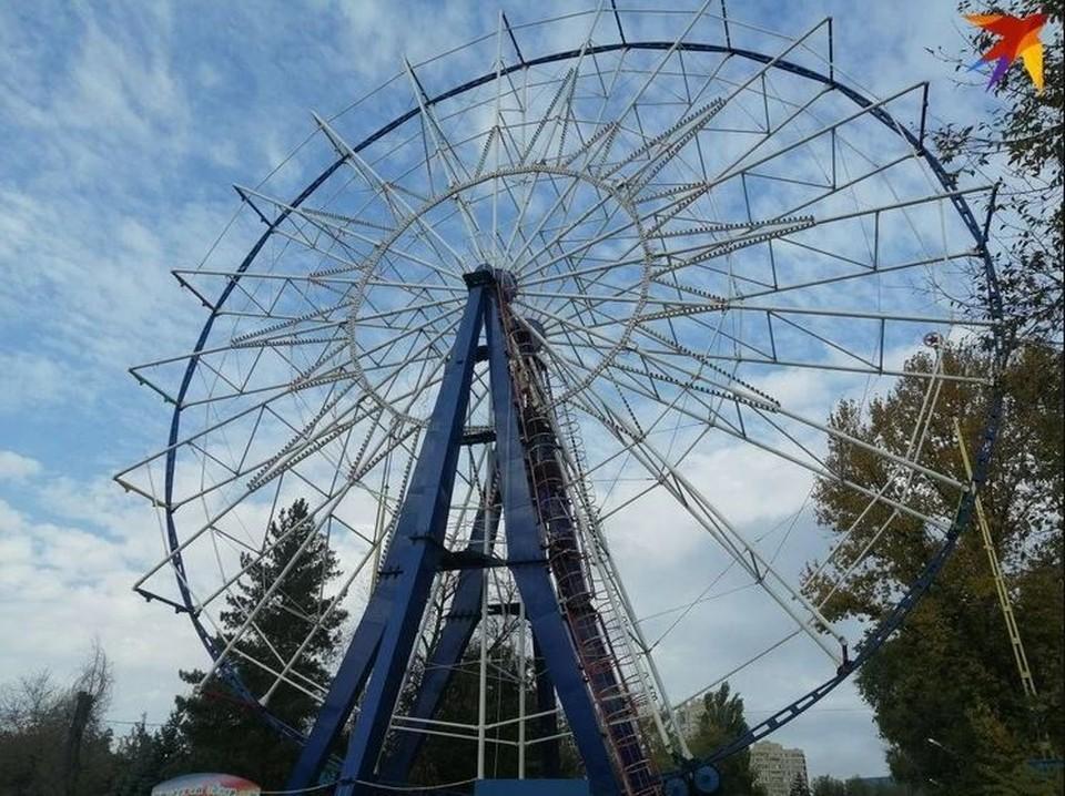 В Ижевске появится 27-метровое колесо обозрения
