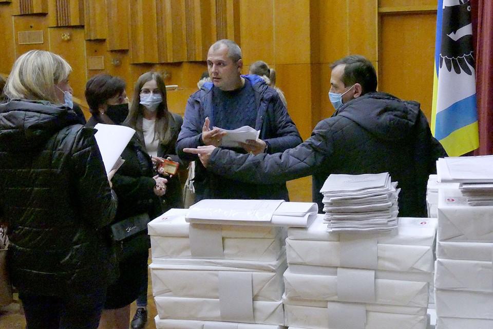 25 октября 2020 на Украине проходят местные выборы