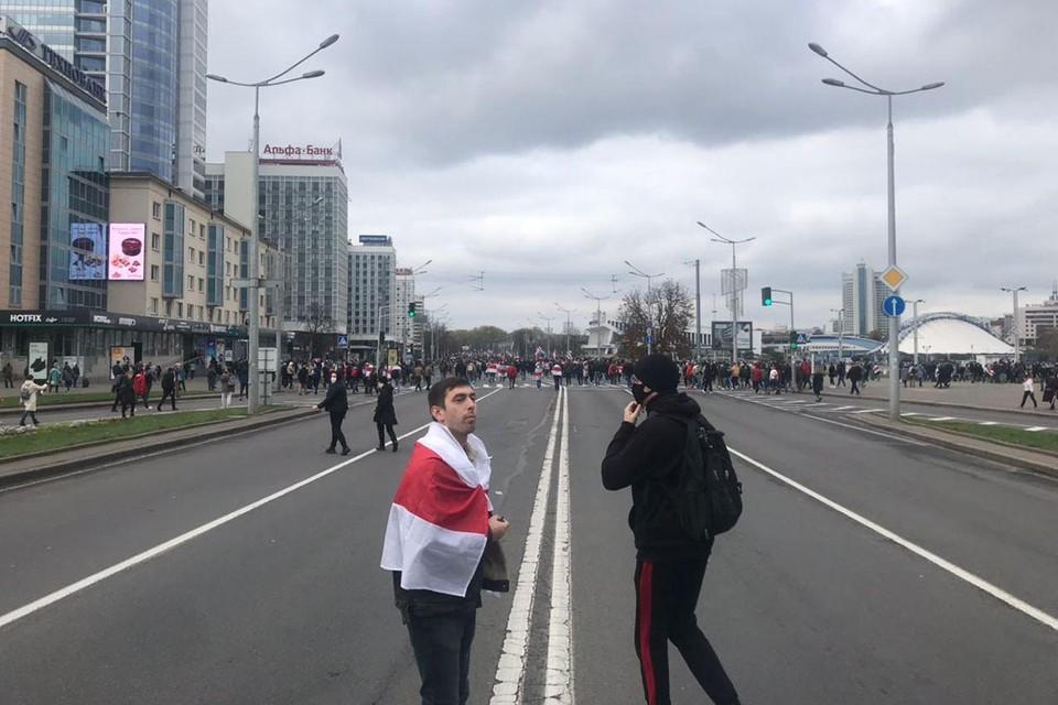 Начало конца? - В Минске начался «последний и решительный» марш протеста