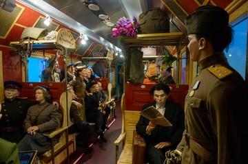 Концлагерь, лазарет и штаб Рокоссовского: В Петербург прибыл уникальный передвижной музей «Поезд Победы»