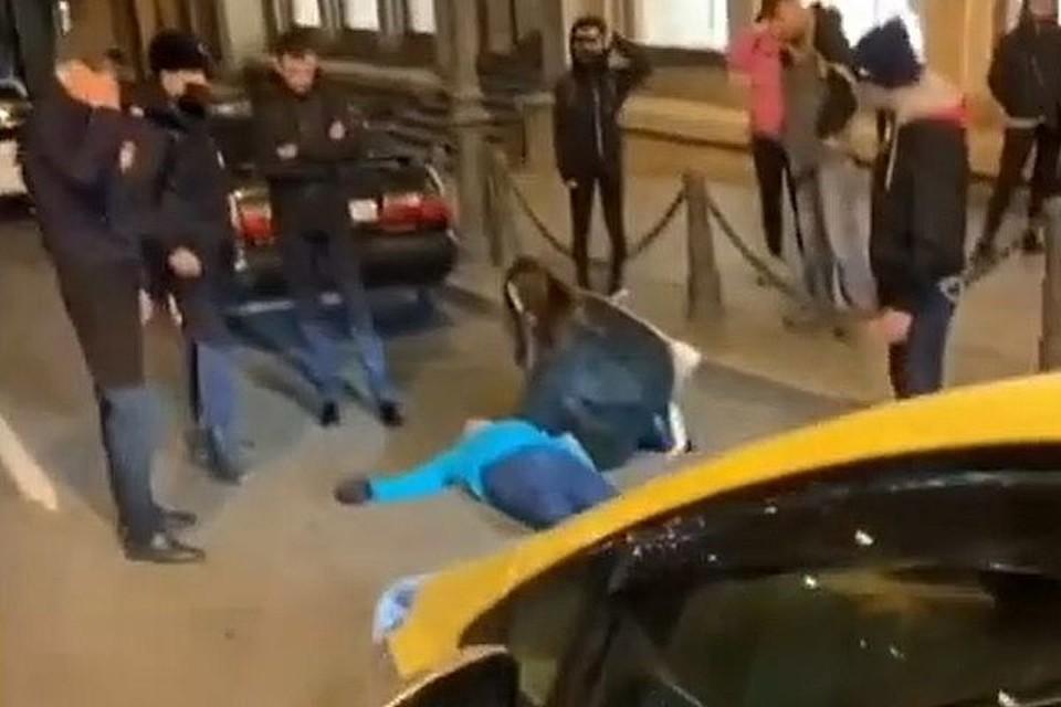 ЧП произошло в центре города