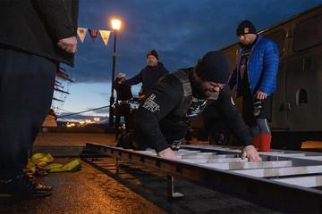 Силачи, установившие мировой рекорд с барком «Седов»: «Готовы к новым достижениям, крейсер «Адмирал Кузнецов» у вас красивый»