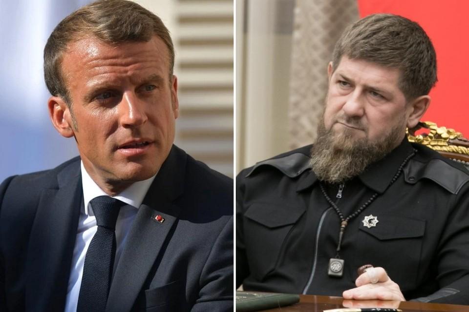 Рамзан Кадыров не собирается брать назад свои слова о Макроне даже если ему придется поплатиться за это должностью. Фото: личная страница Рамзана Кадырова / Global Look Press