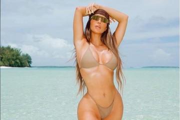 «Арендовала целый остров, пока люди умирают от пандемии»: Ким Кардашьян, роскошно отметившая 40-летие на Таити, вызвала волну ненависти