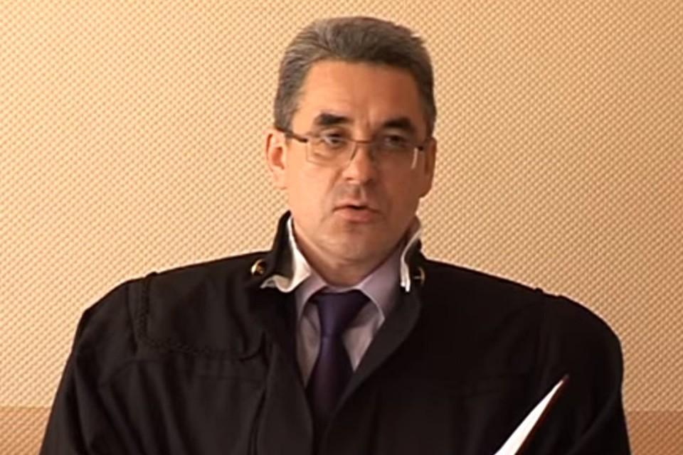 Судья Сергей Бондарев на одном из судебных заседания