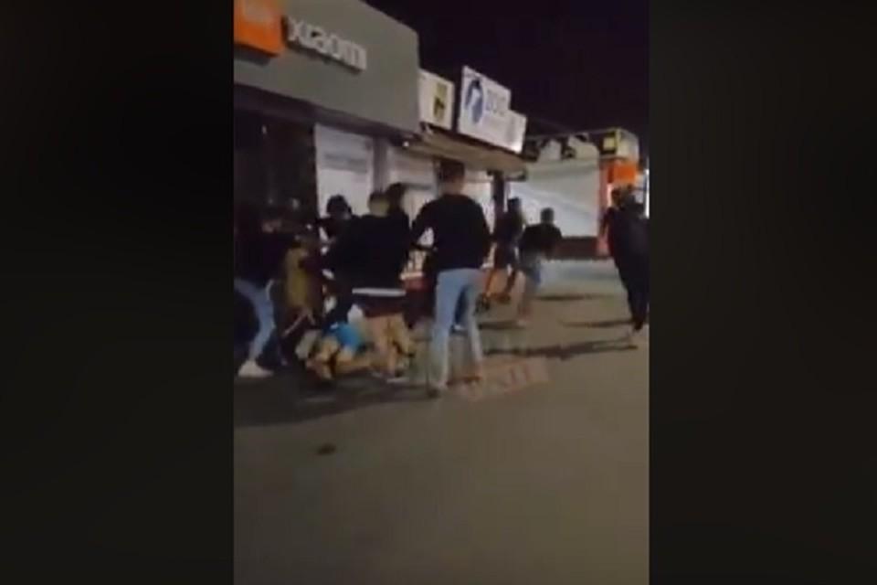 Вот что происходит на улицах Кишинева (Фото: скрин с видео).