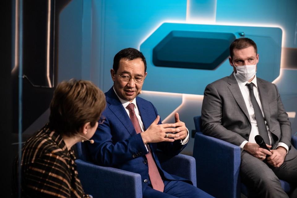 Айсен Николаев рассказал о развитии первого в России проекта социального воздействия. Фото пресс-службы главы республики Саха (Якутия)