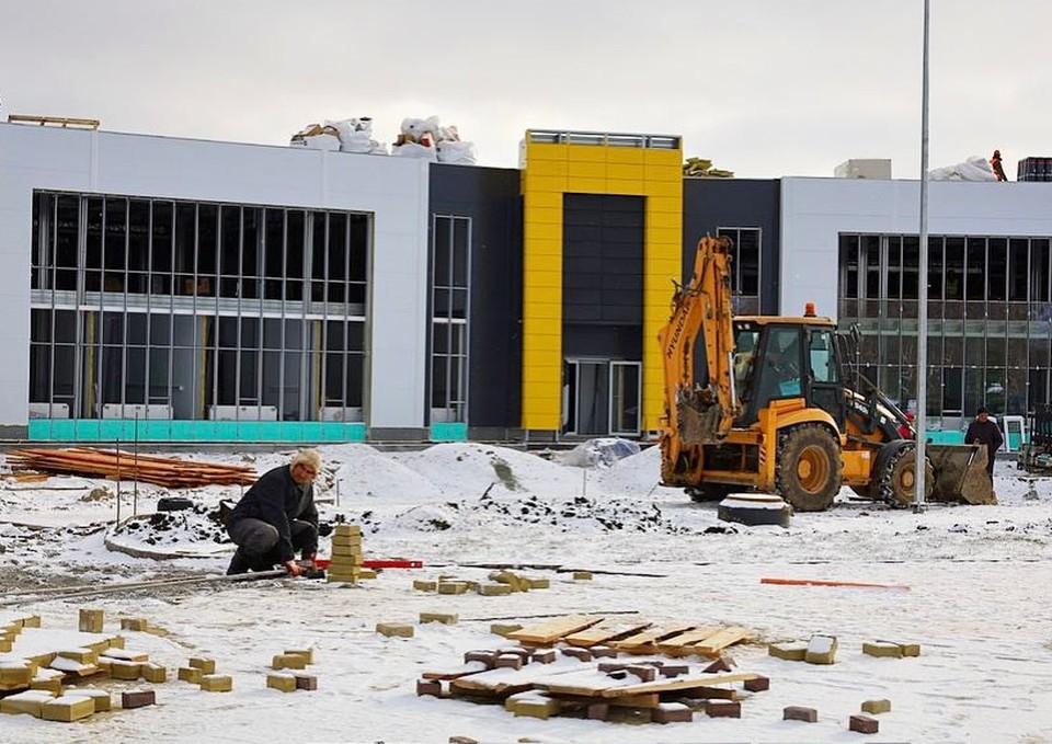 Новая больница и мемориал откроются в ноябре. Фото: минздрав Челябинской области.