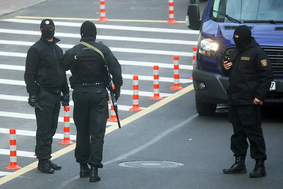 Правоохранительные органы Белоруссии усиливают меры безопасности перед акцией оппозиции в Минске