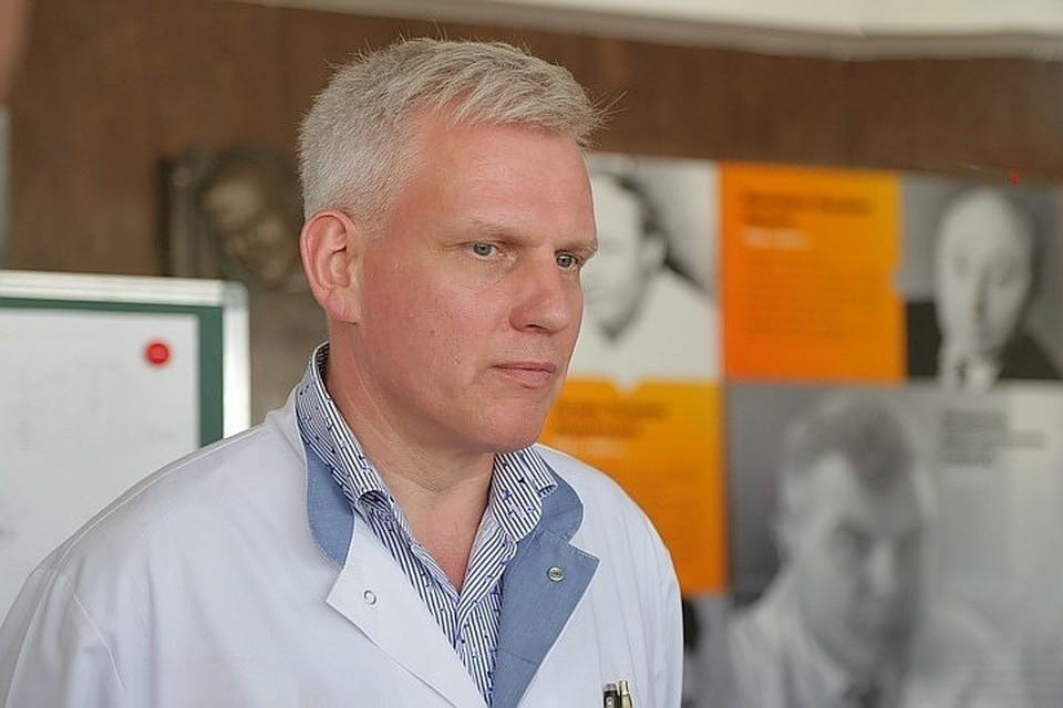 Егор Корчагин, главный врач Красноярской краевой клинической больницы