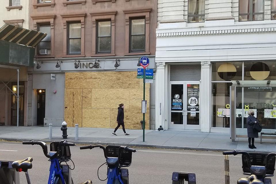 Нью-Йорк замер в ожидании выборов.