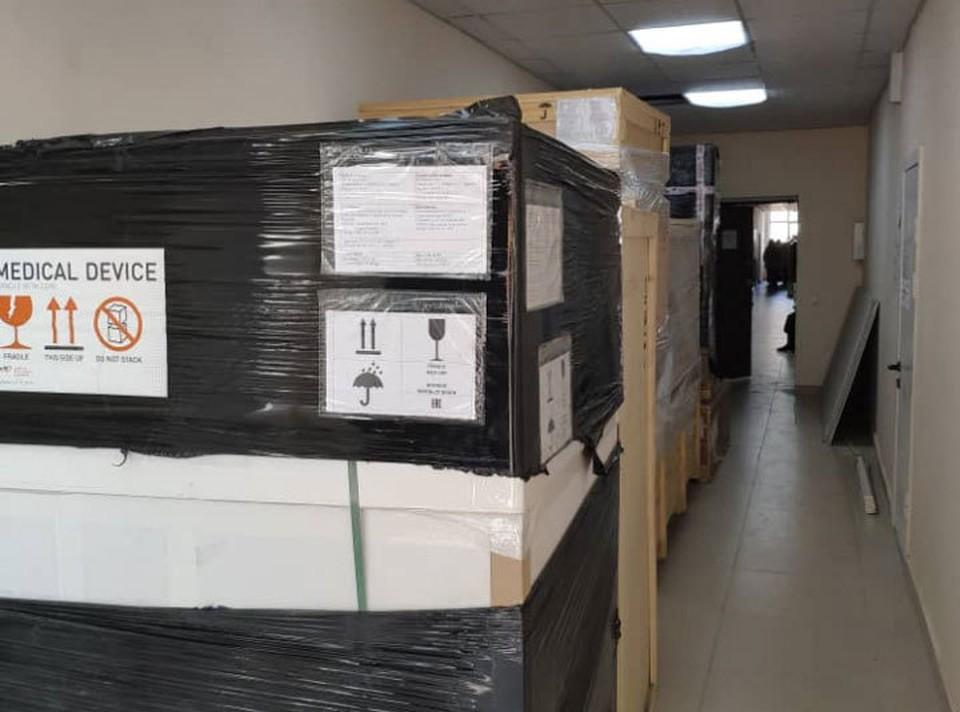 В Кыргызстан доставили дорогостоящее медицинское оборудование (Фото: ФОМС).