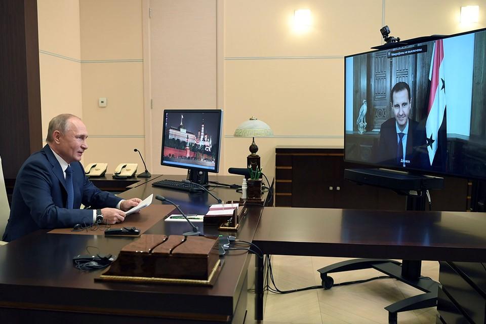 Владимир Путин: Очаг международного терроризма в Сирии ликвидирован