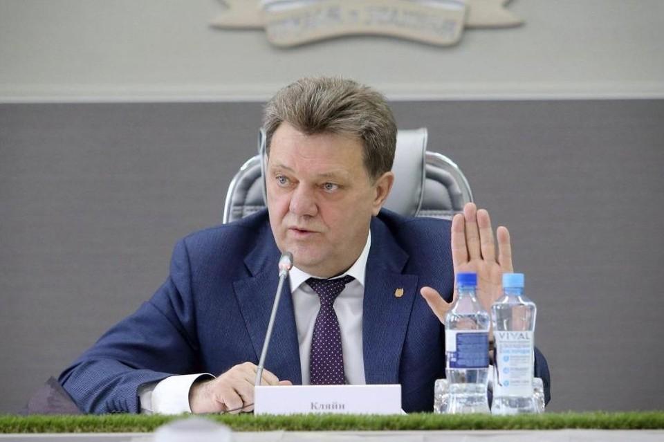В 2013 году Кляйн передал место гендиректора пивного завода своей супруге и стал мэром Томска. Фото: https://admtomsk.ru/