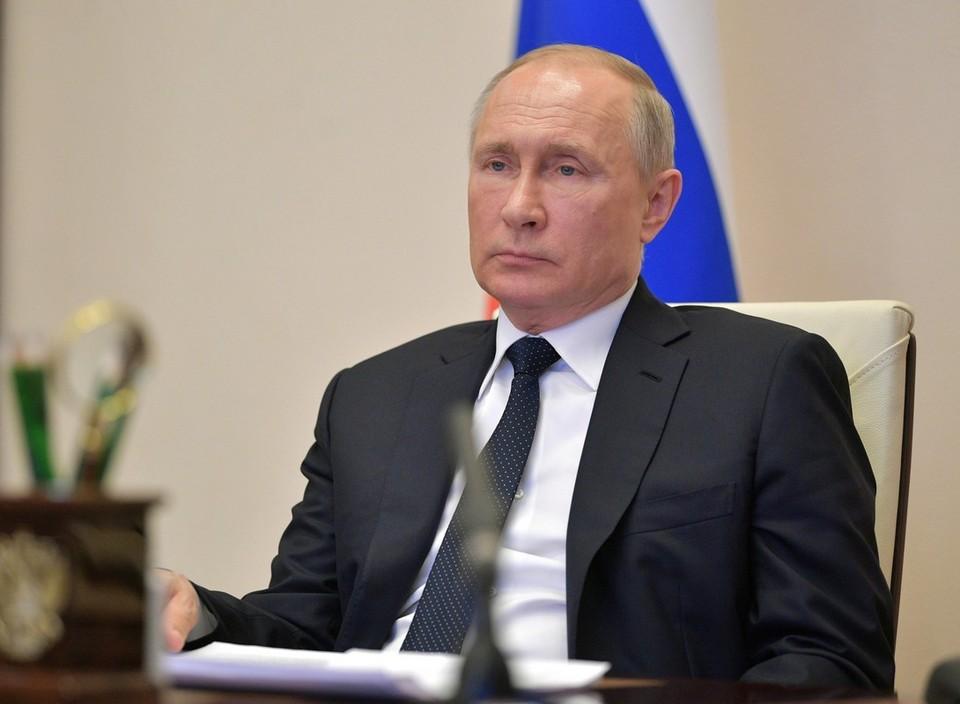 Путин: Россия проходит серьезные испытания из-за пандемии