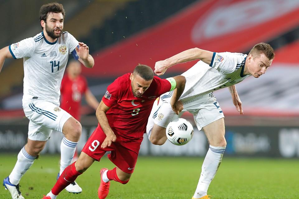 В Стамбуле команда Черчесова не смогла выиграть и у сборной Турции