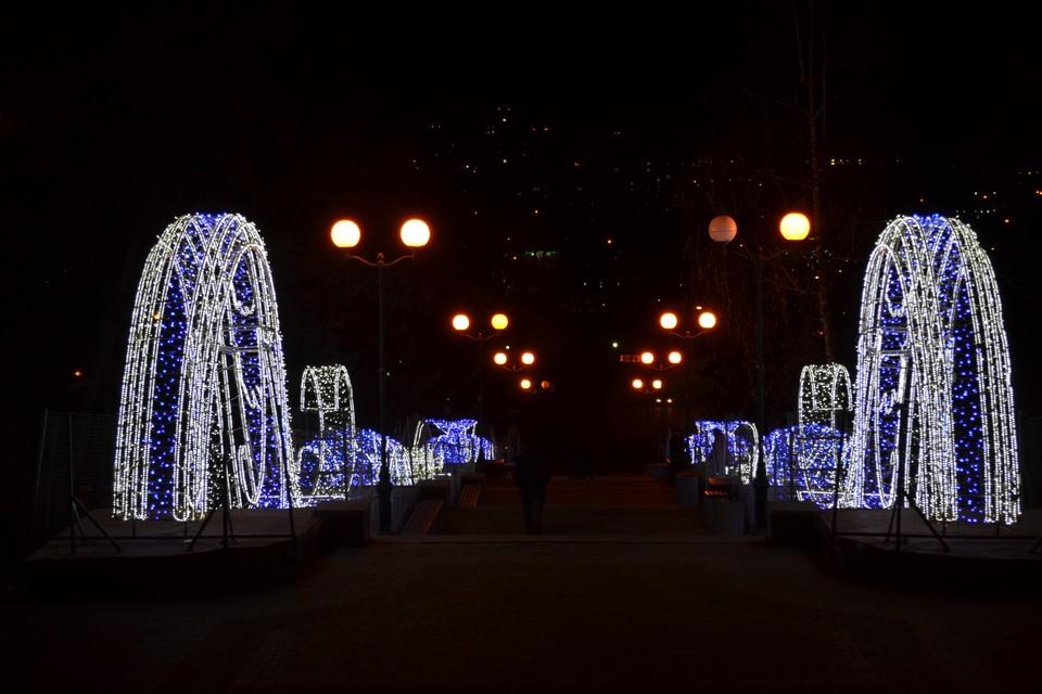 В Липецке готовятся к Новому году