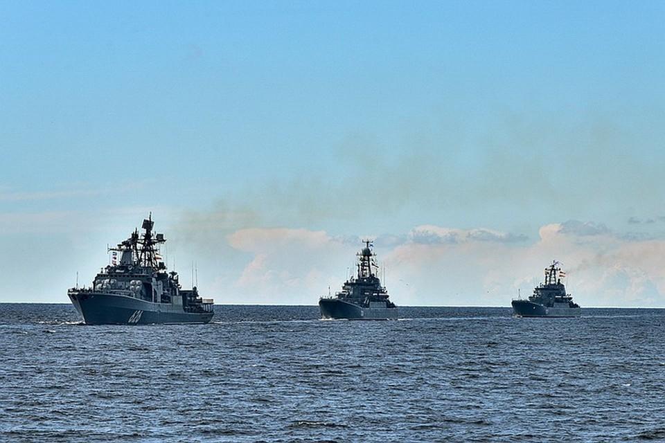 На ПМТО смогут находиться не более 4 российских военных кораблей.