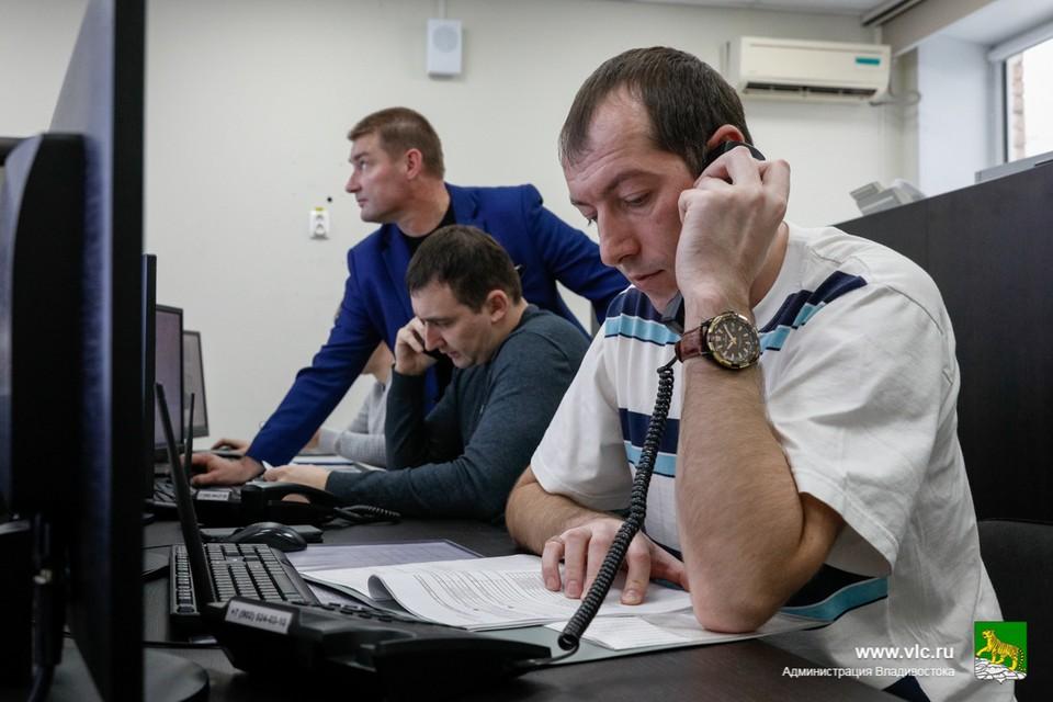 В оперативный штаб во Владивостоке вошли представители городской администрации, ГИБДД, МЧС