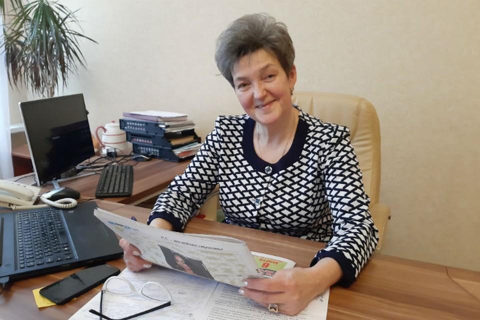 Директор Ростовского педагогического колледжа Наталья Рябинкина. ФОТО: Тамара СМИРНОВА