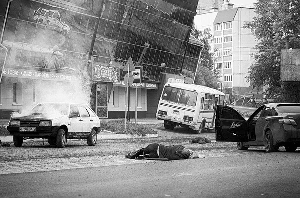 Кадр со съемочной площадки. Фото: Алексей Потапов